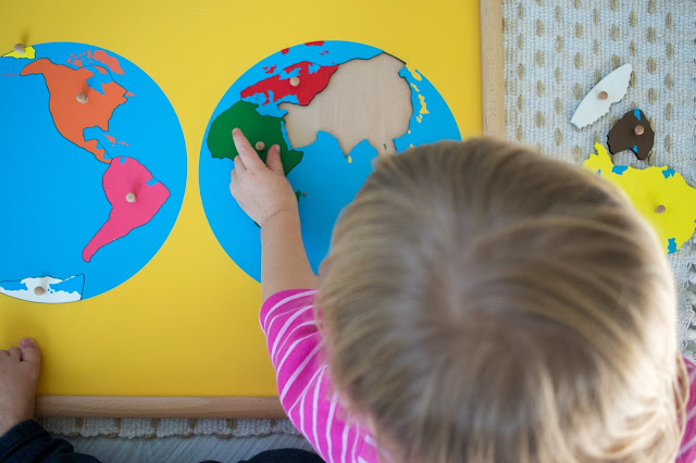 Our favorite Montessori geography DIYs -- easy projects for kids that like geography