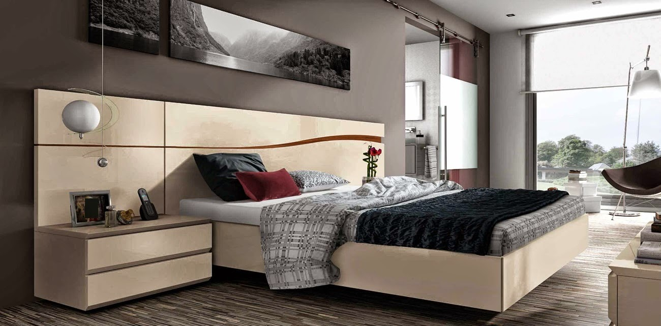 style design chambre a coucher