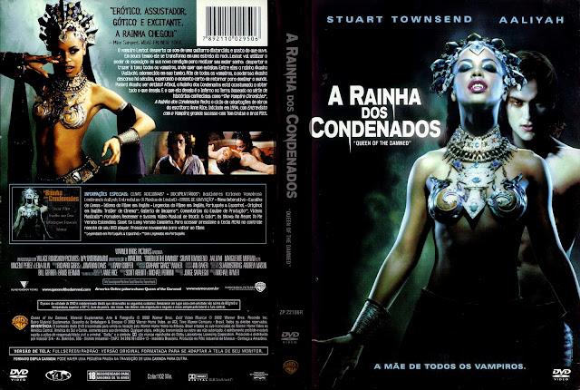 Capa DVD A Rainha dos Condenados