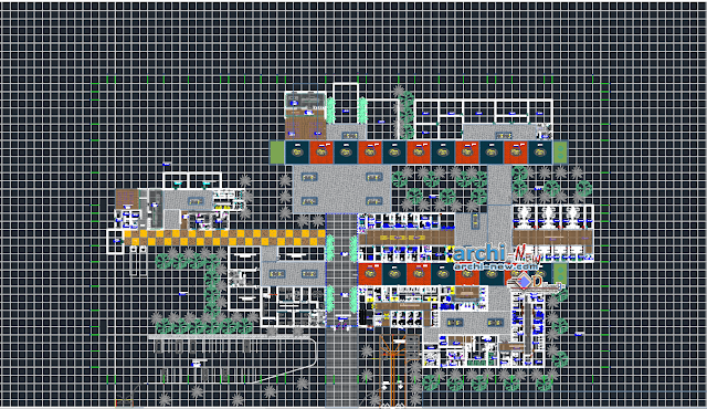 Multifunctional general plan Dwg