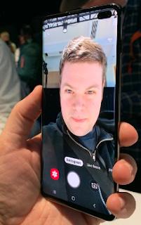 Cara Mengunci Samsung Galaxy S10 dengan Face Unlock
