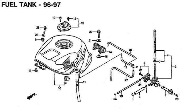 1997 Cbr900rr Fireblade Wiring Diagram