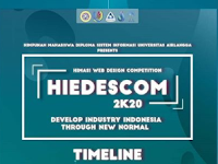 Web Design Competition HIEDESCOM 2020 di Unair