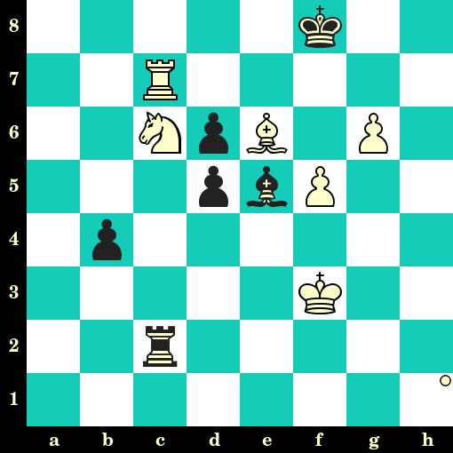 Les Blancs jouent et matent en 2 coups - Sergey Fedorchuk vs Fabien Guilleux, Nancy, 2019