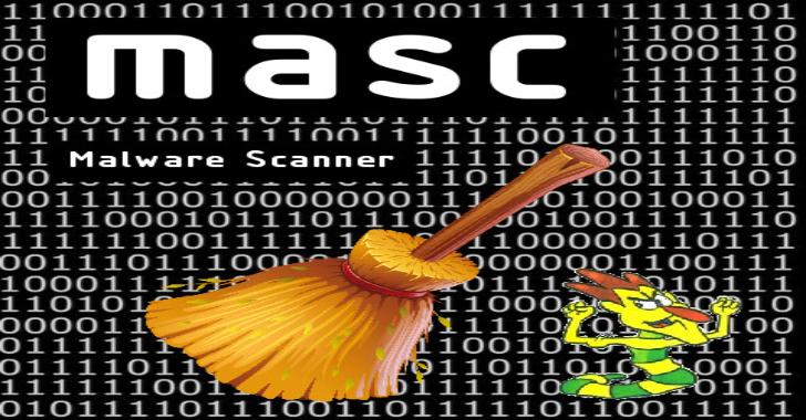 MASC : A Web Malware Scanner