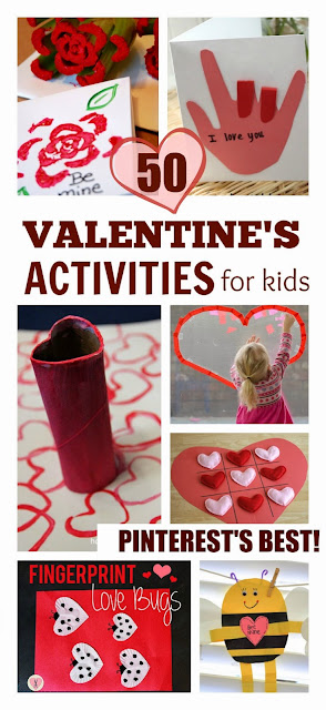 All The Best Valentine's Activities for Kids Collected From Pinterest