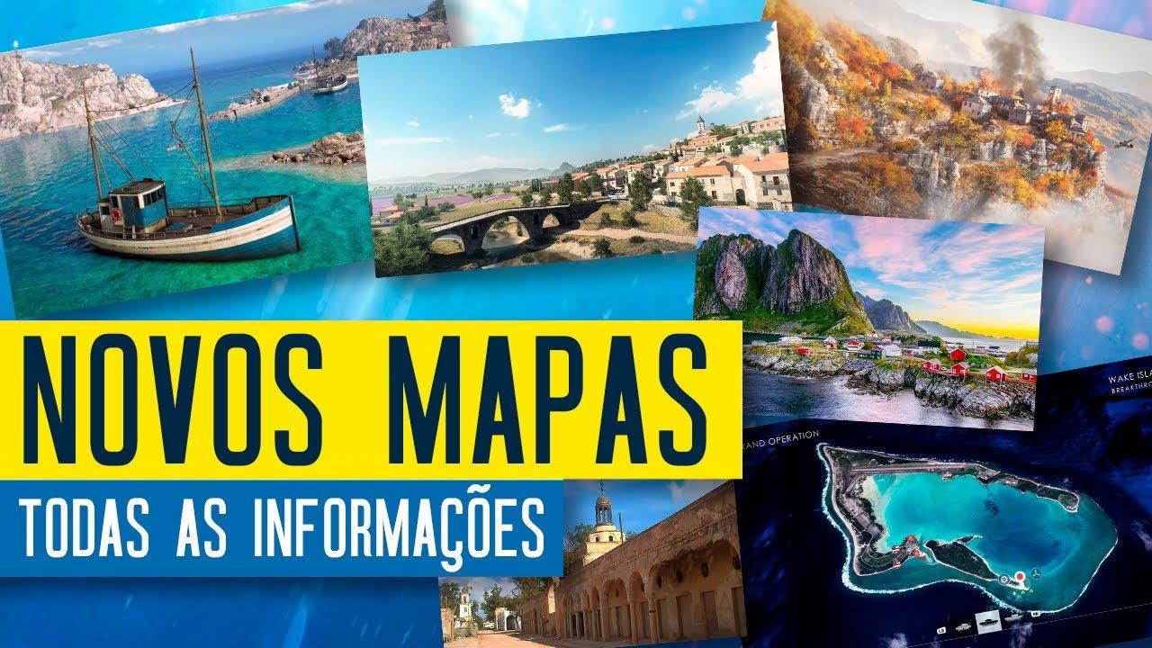 Battlefield V: Novos mapas, armas e modo competitivo