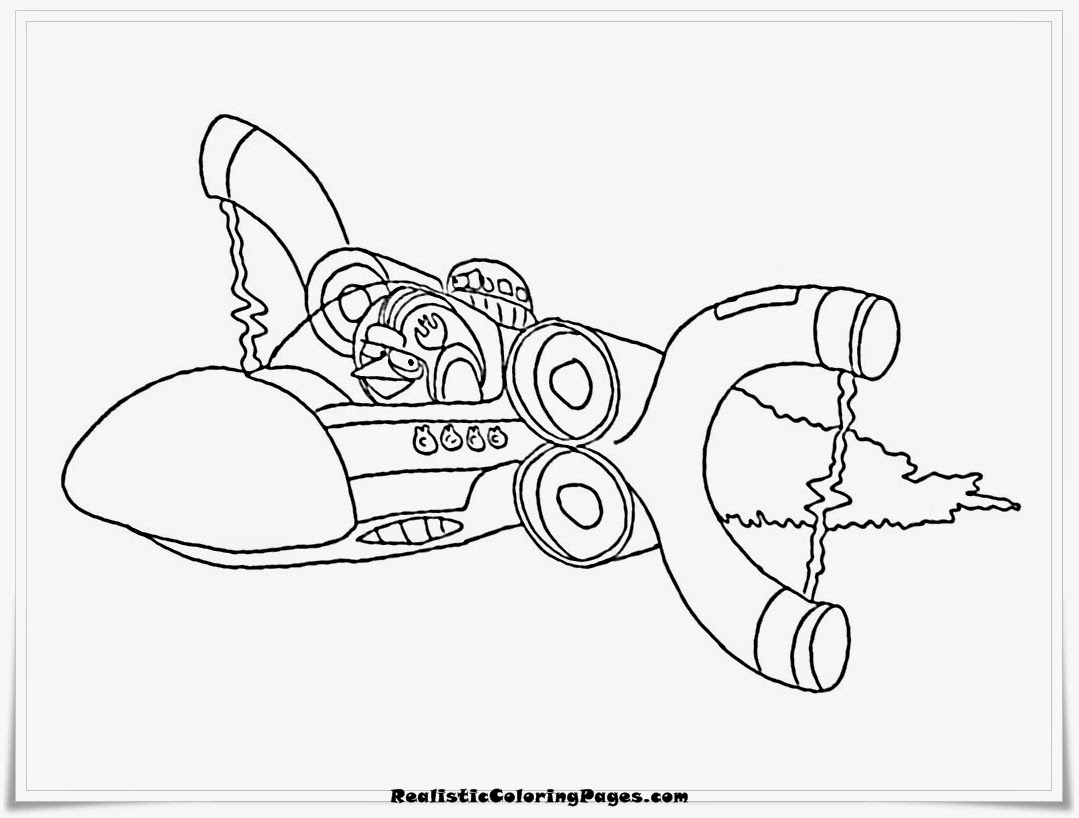 Coloring Pages Angry Birds Transformers