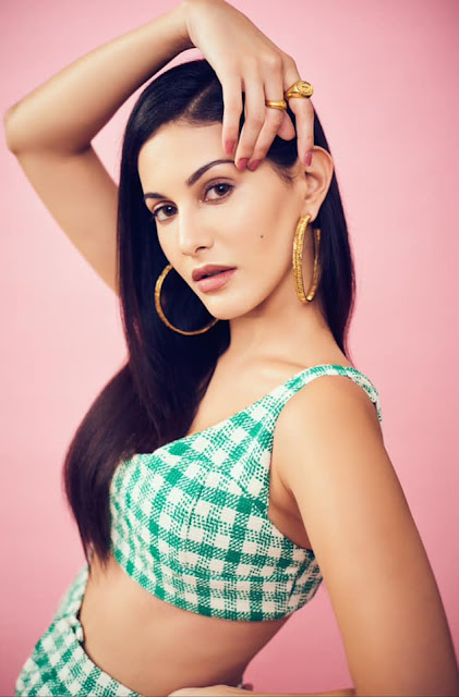 Actress Amyra Dastur Hot Photoshoot Stills Navel Queens