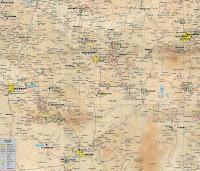 Подробная карта достопримечательностей Каппадокии