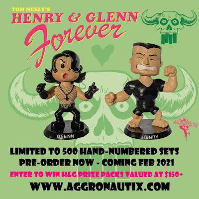 Henry & Glenn Forever Throbbleheads