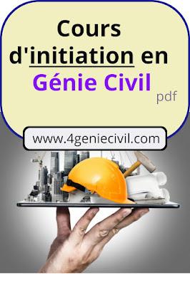 initaiation et formation génie civil pdf