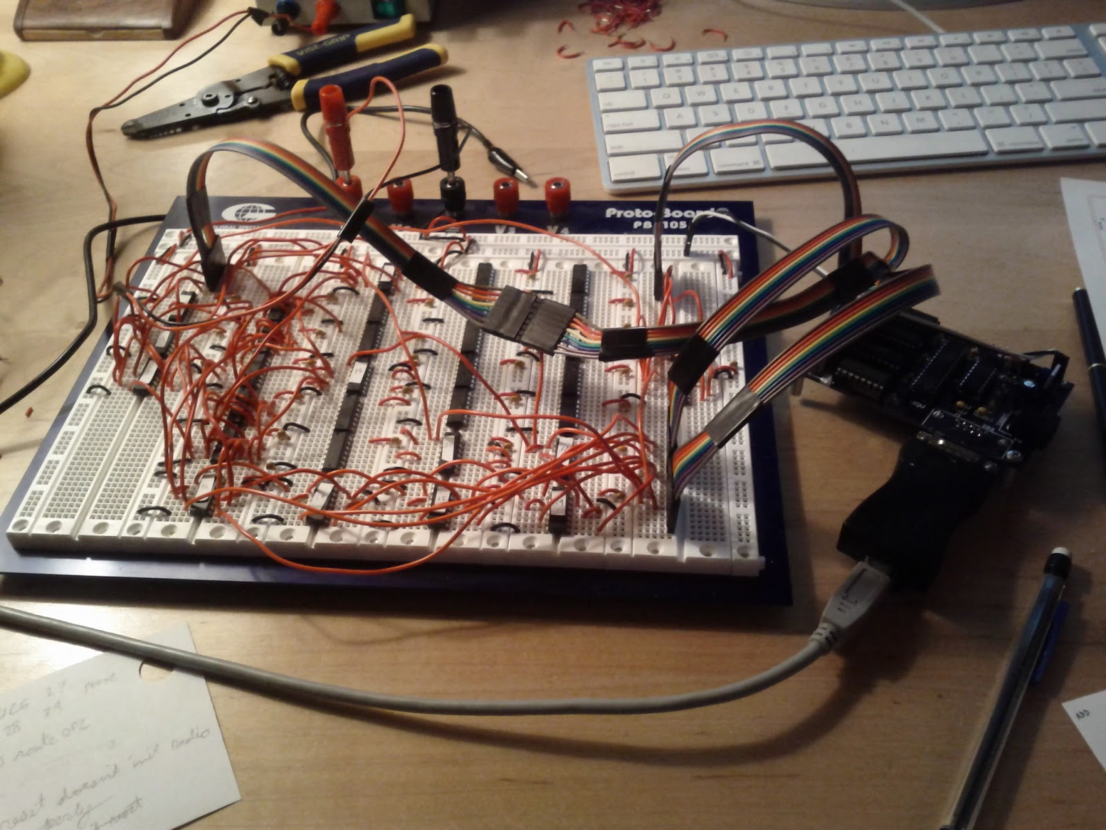 Blog 2011 Programmer Avr Your Usb Circuit Diagram Nonstopfree Electronic Ill Post Schematics And Diagrams When I Get All Eight Bits Done