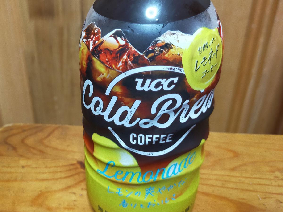 UCC Cold Brew レモネード ペットボトル 500ml