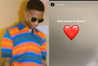 I won't drop any song till 2024,  says Wizkid