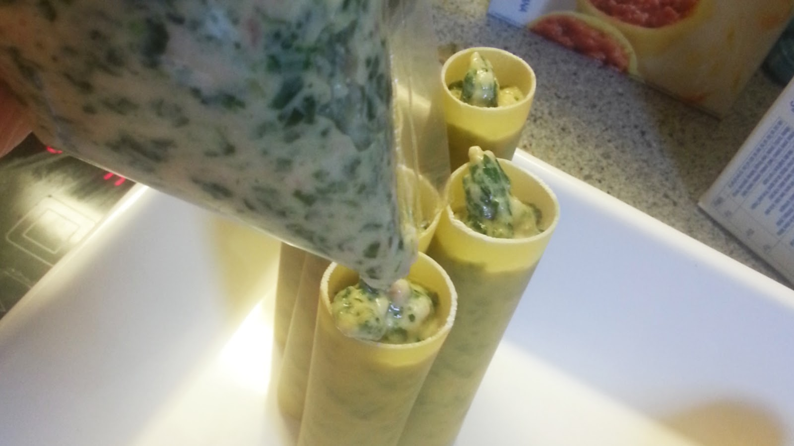 remplissage cannelloni