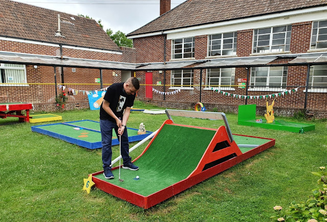 Filwood Fantastic Mini Golf in Knowle West, Bristol