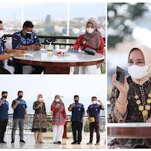 Ketua PMI Lampung  Ajak Komunitas Suzuki Katana Jimny Indonesia  Bersinergi
