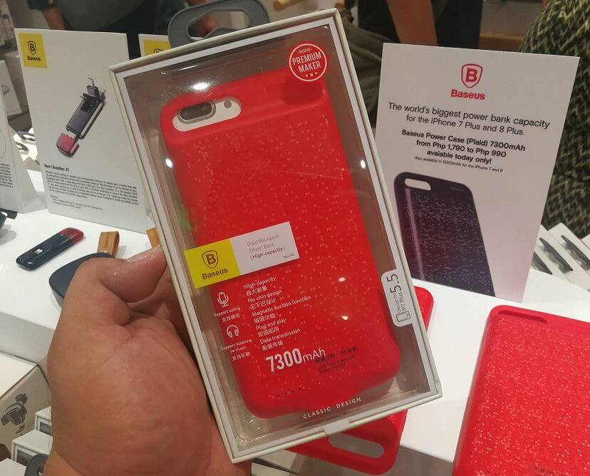 Baseus 7300mAh Power Case for Php990 (Regular Price is Php1,790)