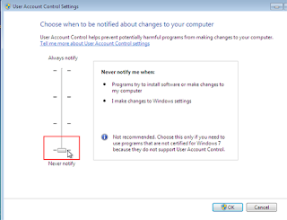 Edit UAC Configuration