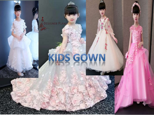 Designerplanet Beautyful Gown for your Little Angel