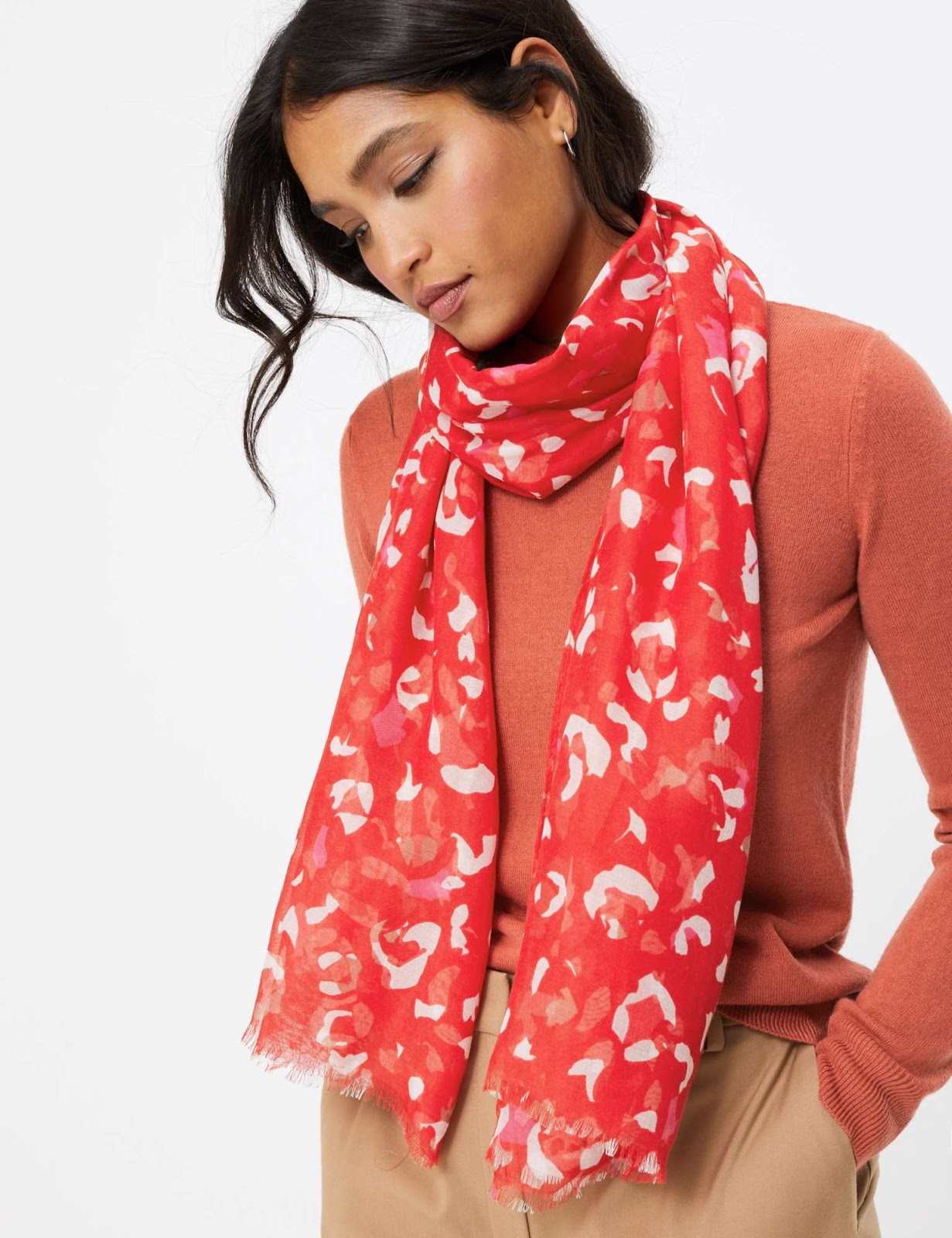 Marks and Spencer animal print scarf