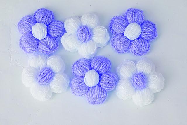 4 - Crochet Imagen Puntada de flores a crochet y ganchillo por Majovel Crochet