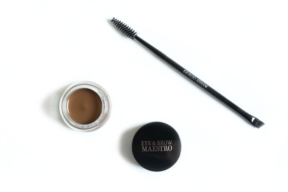 armani eye brow maestro 4 ambre avis test swatch