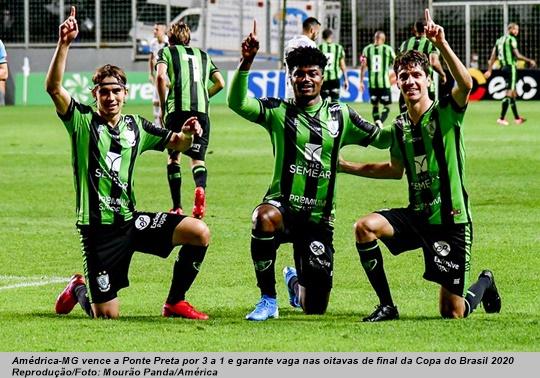 www.seuguara.com.br/América-MG/Ponte Preta/Copa do Brasil 2020/