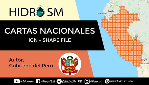 Perú - IGN - Shape file, descargar