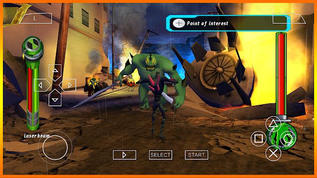 تحميل لعبة بن تن BEN 10 alien force على محاكي ppsspp بروابط مباشرة