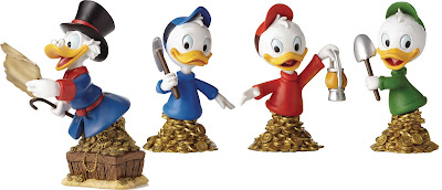 DuckTales Grand Jester Disney Mini Busts – Uncle Scrooge McDuck, Hewey, Dewey & Louie