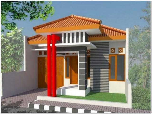 Model rumah minimalis sederhana tampak depan terbaru