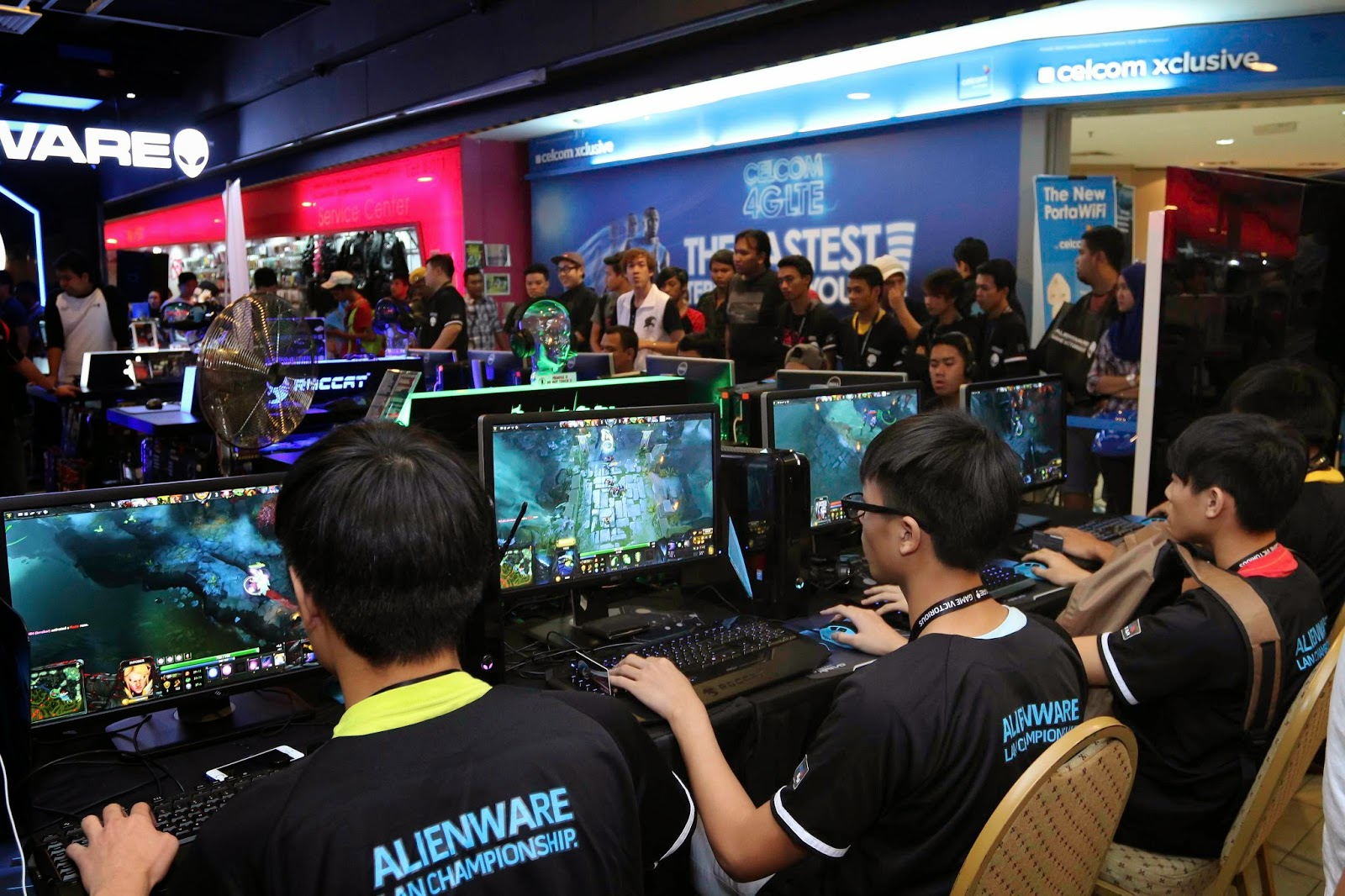 Malaysia's Leading Gamers Battle It Out at Alienware Tournament Alienware and Genysis Cyber E-sport Joined Forces for Alienware LAN Championship 11