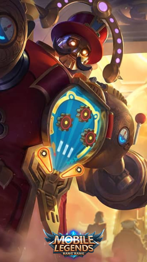 Wallpaper Uranus Pinball Machine Skin Mobile Legends HD for Android and iOS