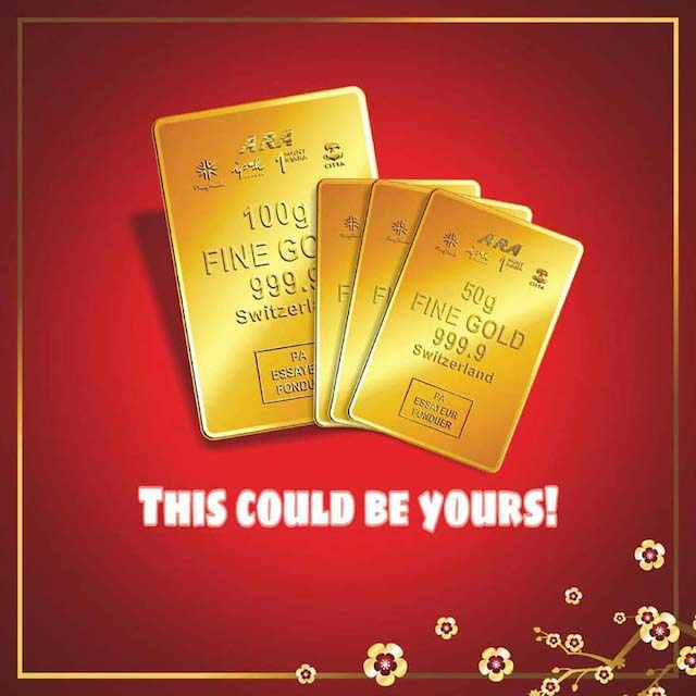 These gold bars could be yours!