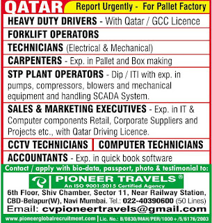 Pallet Factory Required for Qatar
