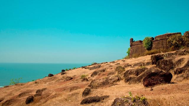 Chapora Fort in Goa