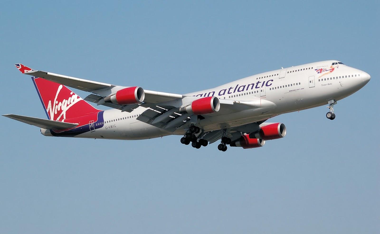 Virgin Atlantic Long Haul Flight - Manchester to Orlando
