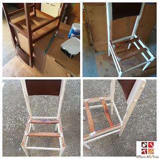 como pintar una silla