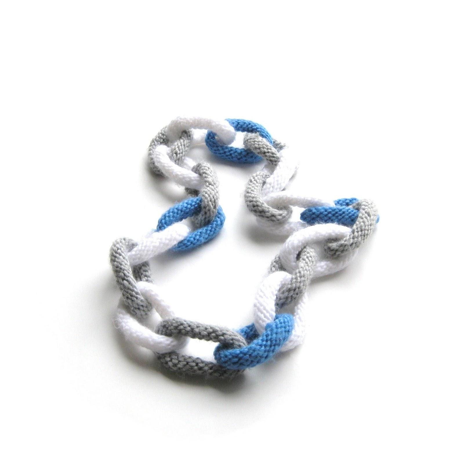 sjaal ketting rondbreien