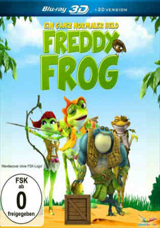 Frog Kingdom 2013 BRRip 280MB Hindi Dual Audio 480p Watch Online Free Download bolly4u