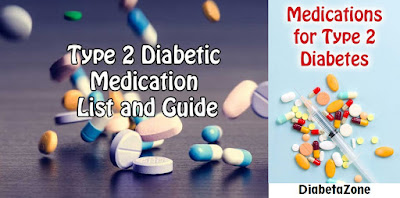 Type II Diabetes Medication List
