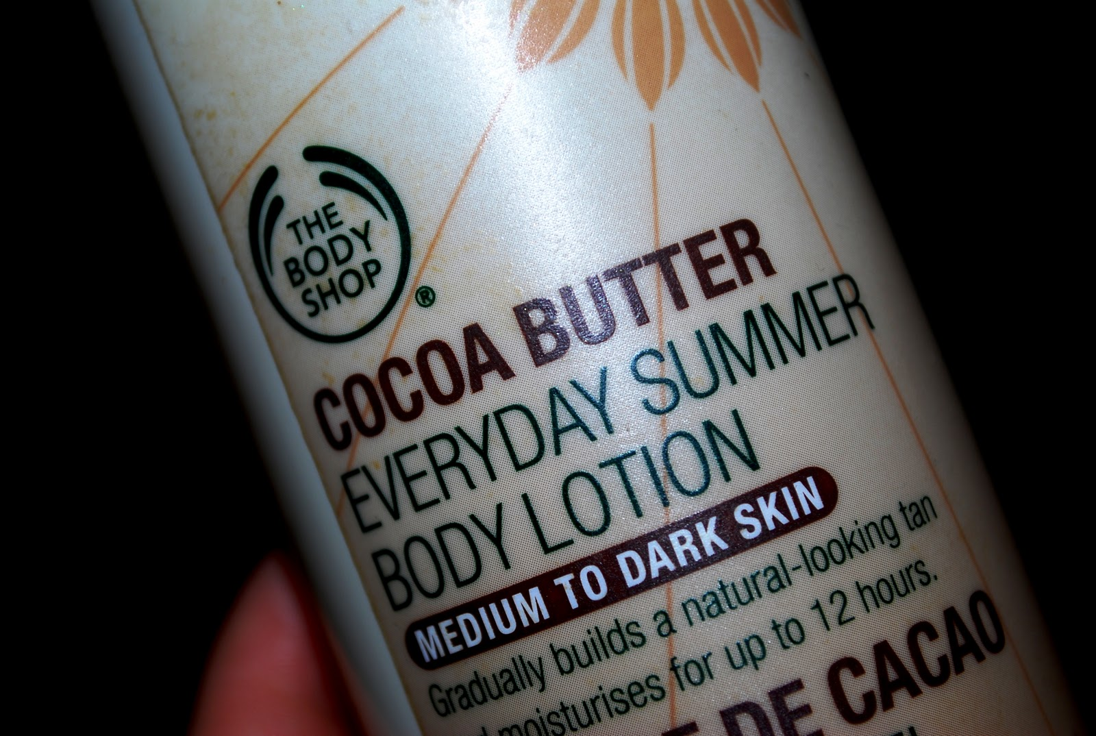 body shop cacao butter