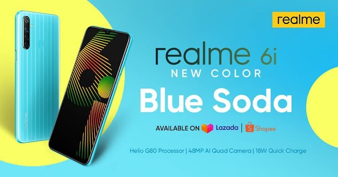 Realme PH releases realme 6i new color Blue Soda variant