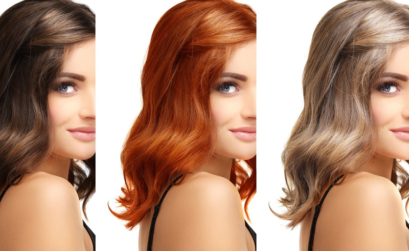 Choosing the right hair color for your skin tone