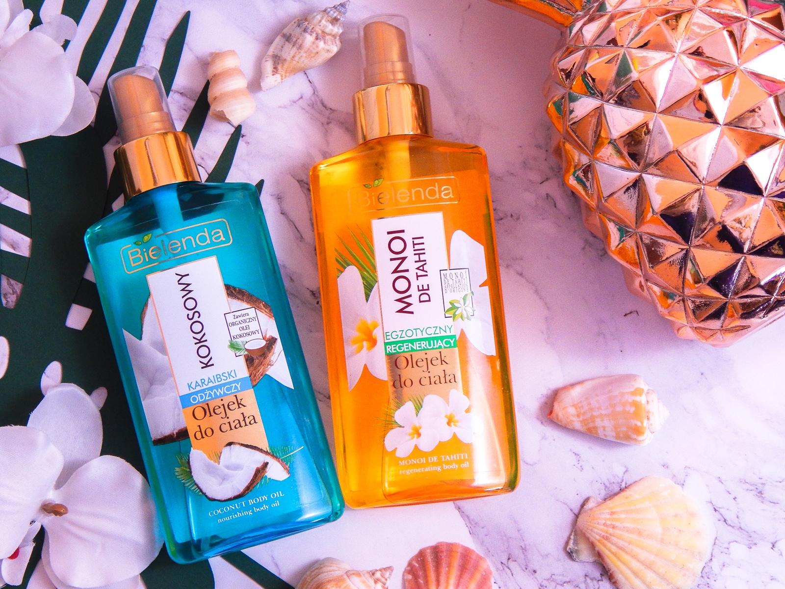 3 bielenda karaibski odżywczy olejek kokosowy do ciała monoi de tahiti recenzja opinia cena melodylaniella blog lifestyle urodowy blogerki z łodzi blogerka recenzje olejek w kremie kokosowy kosmetyki