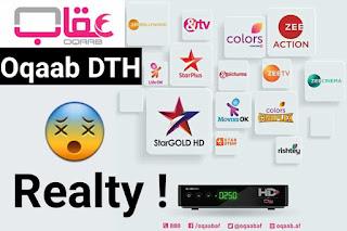 Oqaab DTH first Afghanistan DTH Oqaab HD+ via Eutelsat 70A