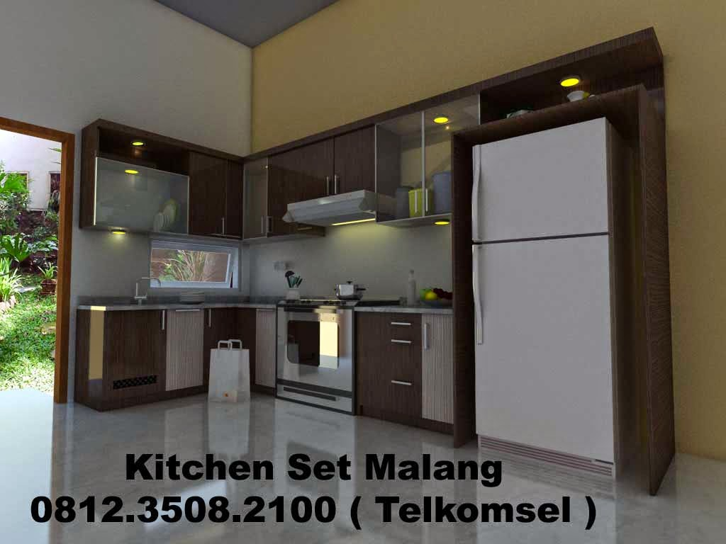 Jasa kitchen set malang jasa pembuatan kitchen set di for Kitchen set malang