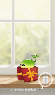 Plant%2BNanny%2BWater%2BReminder%2Bjilaxzone%2Bdrink%2Bbutton [FREE iPHONE APP] Plant Nanny – Personal Drink Reminder with Cute Plant to grow with – Each cup of water you drink, it will shower the plant Apps